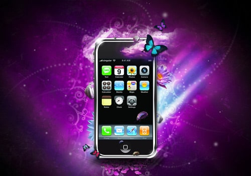 IPhone 3G Fantasy by F4rn4