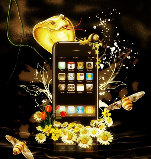 IPhone 3-Warm version by Lotus-su