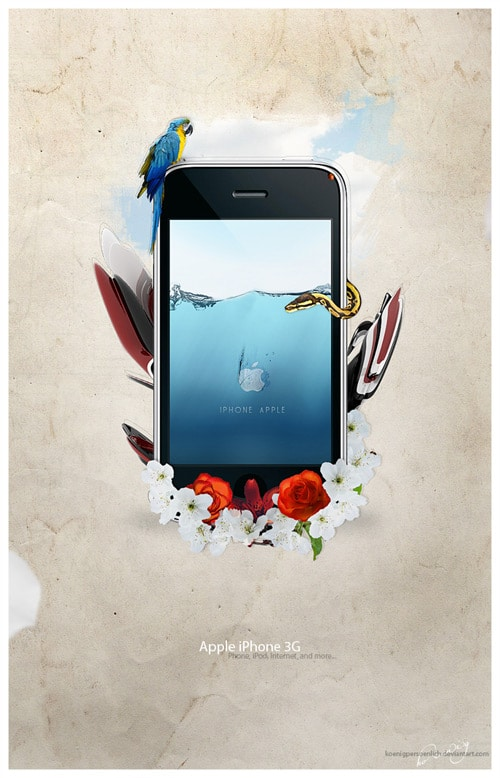 iPhone Advert by koenigpersoenlich