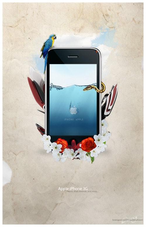 iPhone Advert by koenigpersoenlich