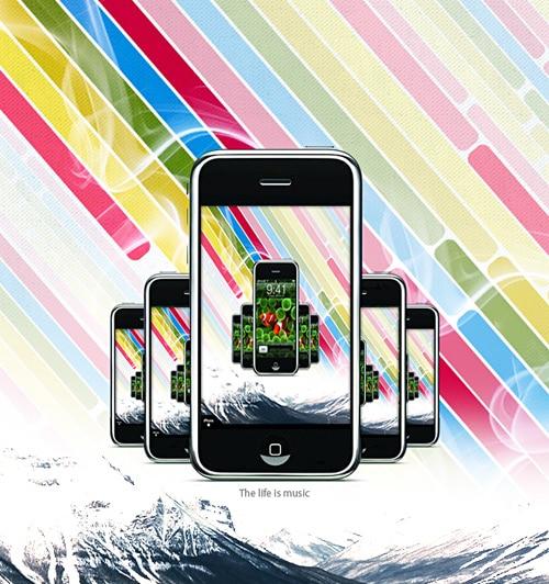 iPhone by Mxser