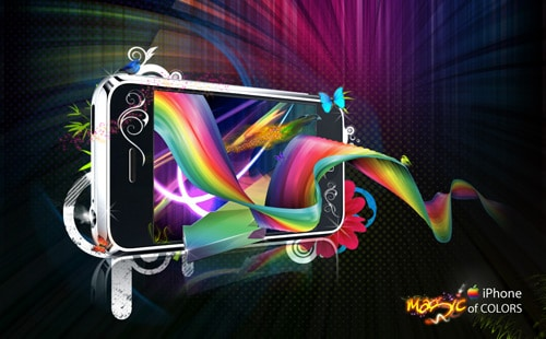 iPhone- Magic of COLORS by Arif Samad