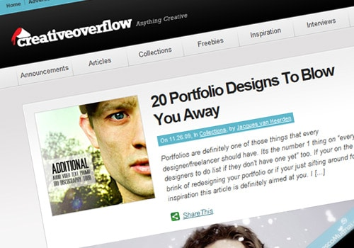 20 Portfolio Designs To Blow You Away