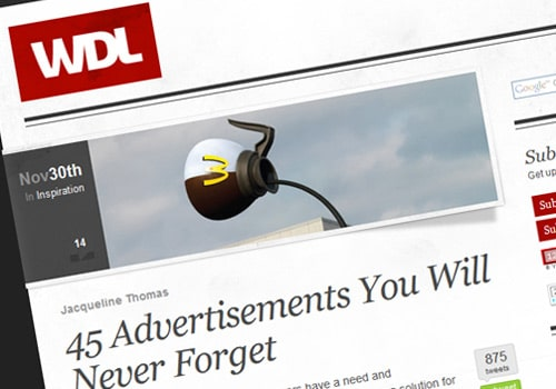 45 Advertisements You Will Never Forget