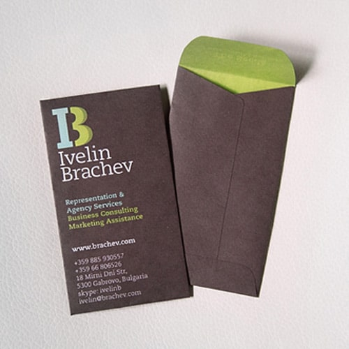 Business Card for: Ivelin Brachev