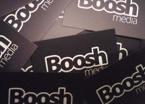 BooshMedia Business Card