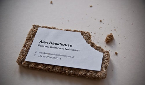 Personal Trainer Business Card By Mark Cossey