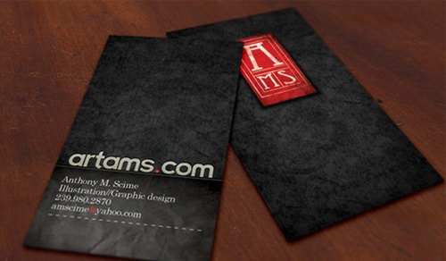 Artams Business Card