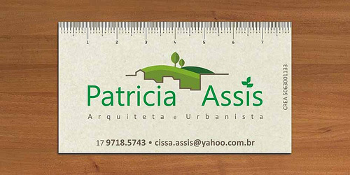 Business Card by Patricia Assis