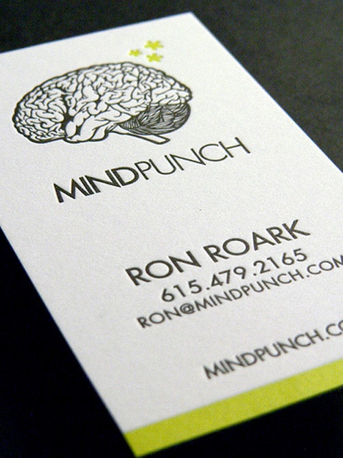 MINDPUNCH Business Card by The Mandate Press