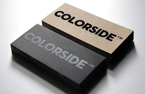 Colorside Business Card