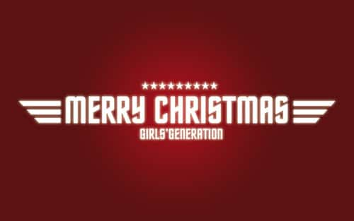 SNSDs Christmas Wallpaper