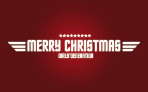 SNSDs Christmas Wallpaper