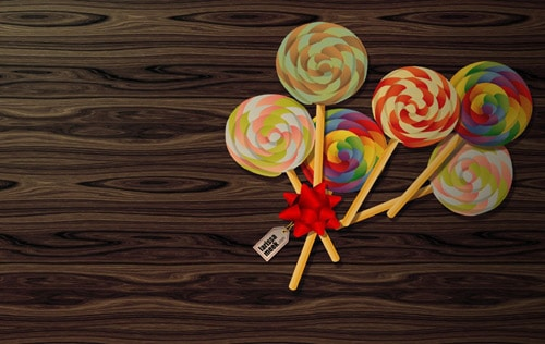 lollipop wallpaper