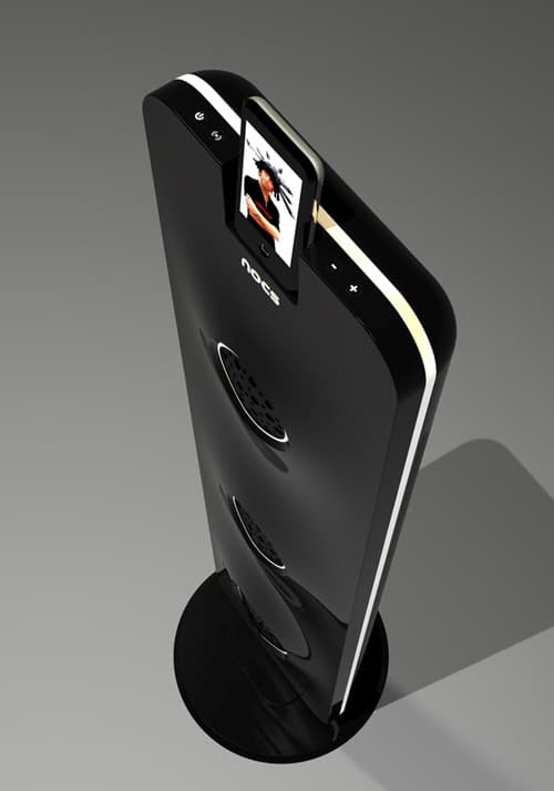 NOCS MP3 DOCKING STATION CONCEPT