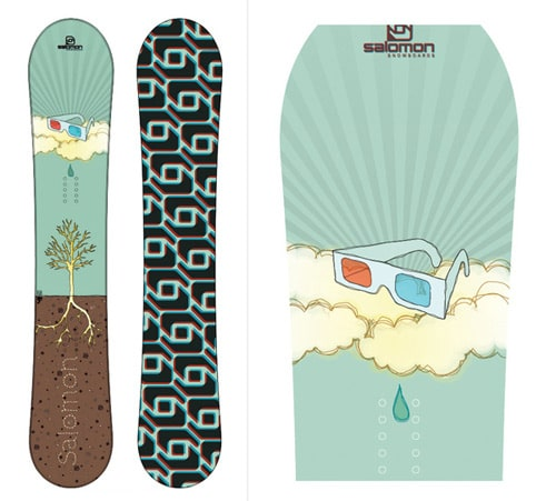 Salomon Snowboards 08 by Cassiano Saldanha