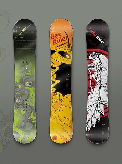 Nidecker Snowboards by Adam Hudyma