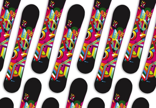 Roxy Snowboards by Death & Taxes