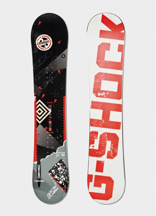 G-Shock / Head Snowboards by pputzar