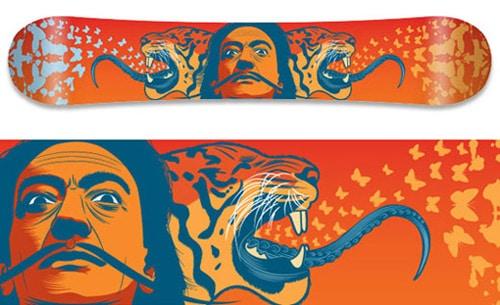 Snowboard designs by Victor Hugo Ortiz González