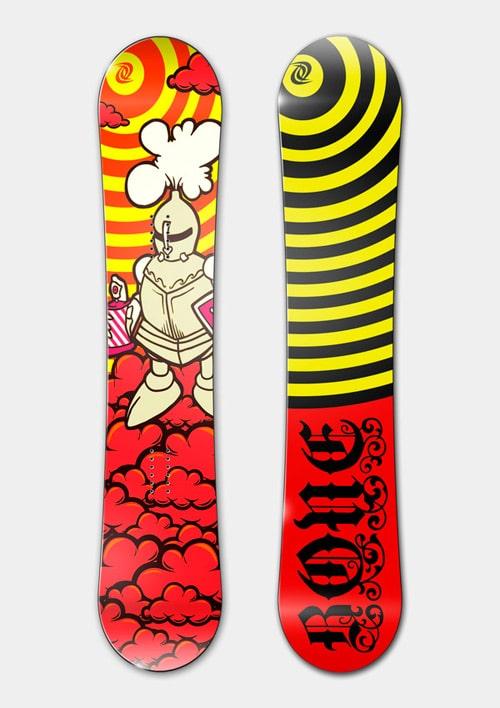 B.O.N.E. Snowboards 2008-09 E by Mikhail Karagezyan