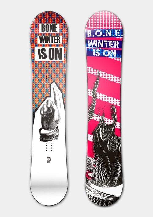 B.O.N.E. Snowboards 2008-09 by Mikhail Karagezyan
