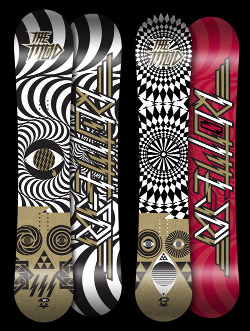2009 Rome Snowboards by MASA
