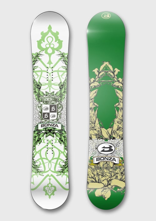 Bonza Snowboards by Mikhail Karagezyan