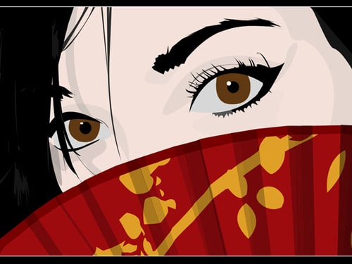 Asian Eyes by AnException221