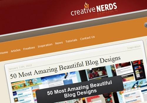 50 Most Amazing Beautiful Blog Designs