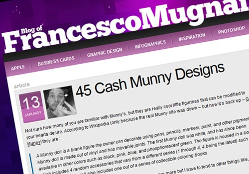 45 Cash Munny Designs