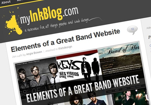 Elements of a Great Band Website