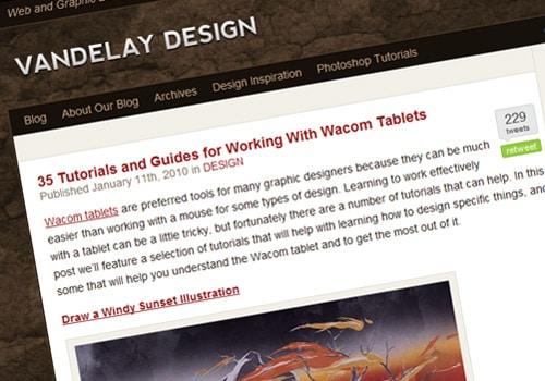 35 Tutorials and Guides for Working With Wacom Tablets
