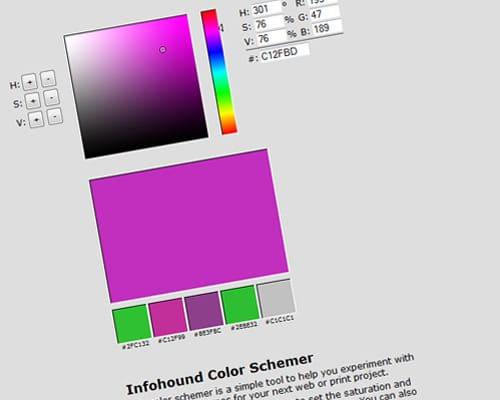 infohound.net |  Color Schemer