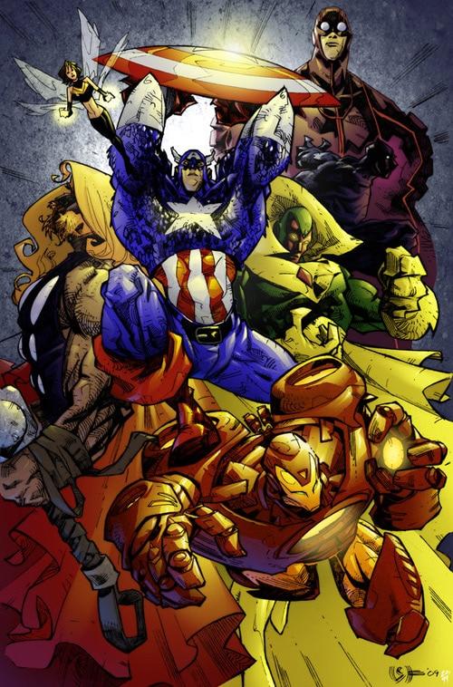 The Avengers by Simon Gough