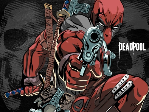 Deadpool by Gio Puno