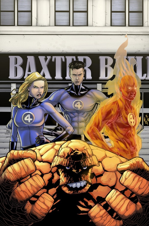 Fantastic Four - First Family by Simon Gough