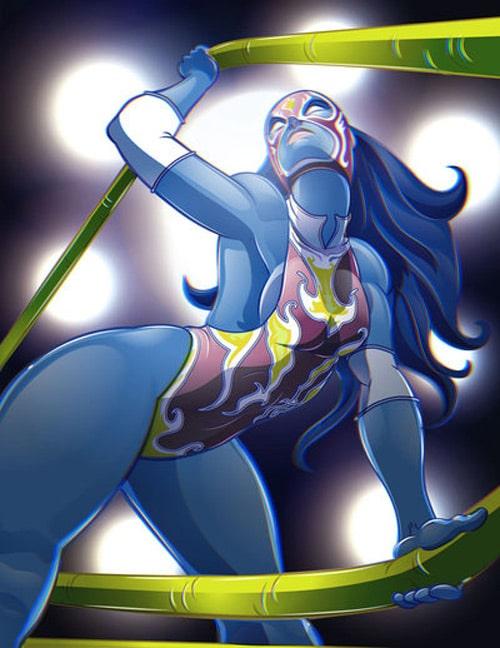 La Reina 3D by lordmesa