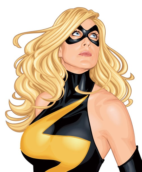 Ms. Marvel by ratscape
