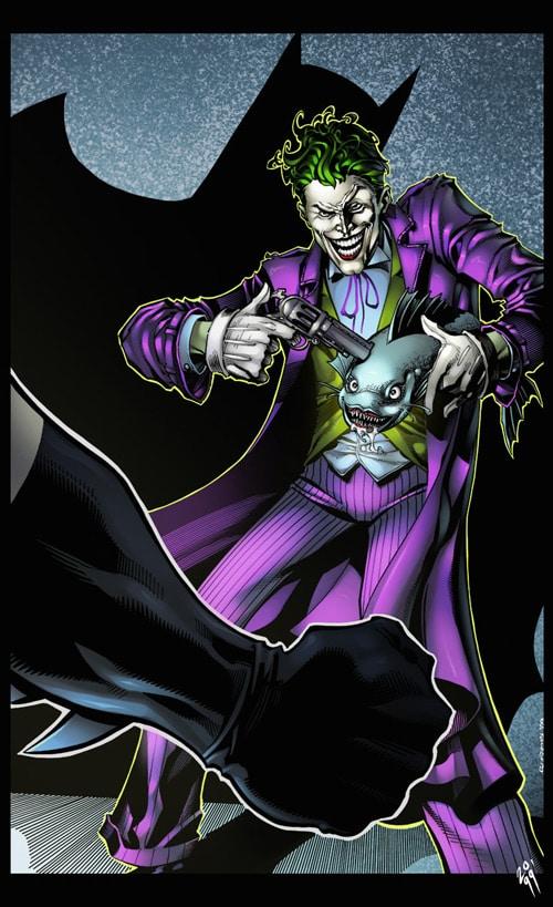 The Jokers Gamble coloured by Simon Gough