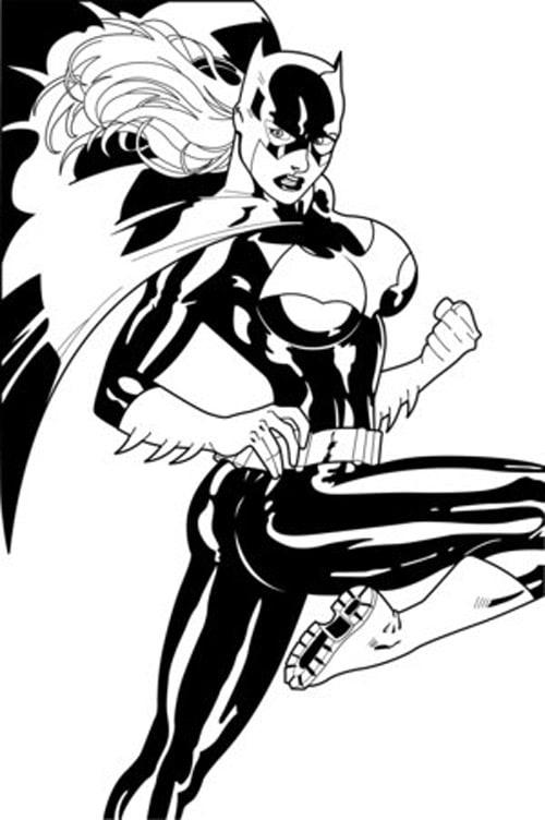 Batgirl Ink by Baldwin
