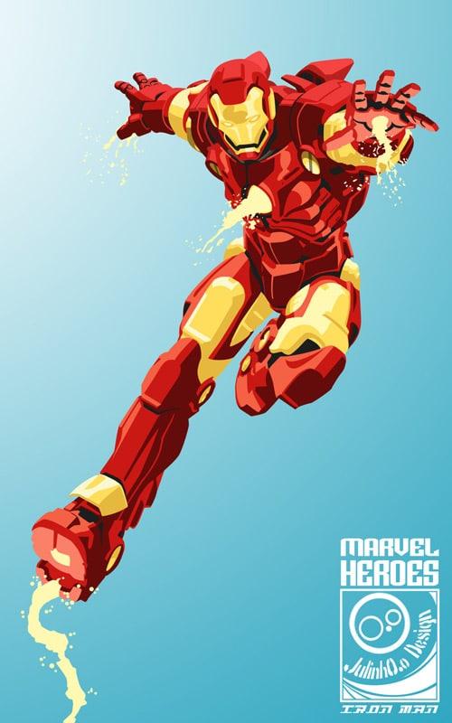 Iron Man by JulinhOo
