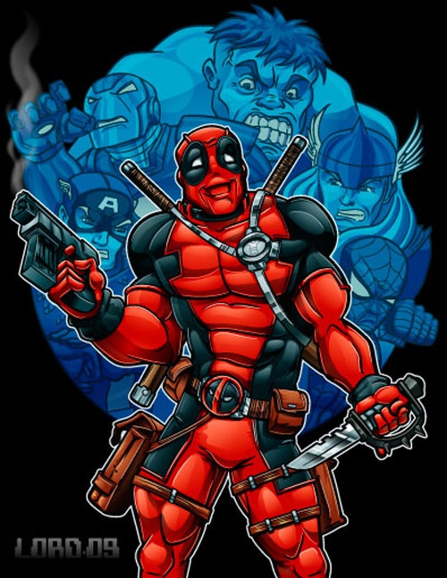 Deadpool by lordmesa