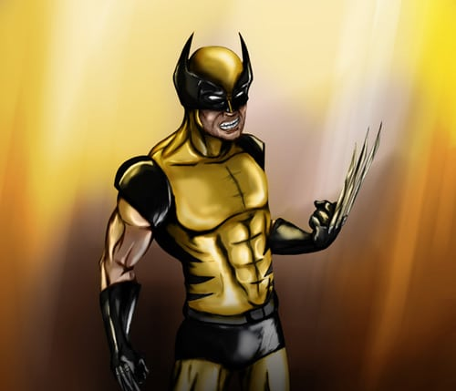 Wolverine Tribute by Edwin Vasquez Olaechea
