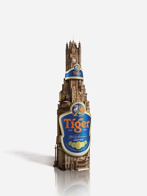 Tiger Beer Credentials 2009 by Chase Cash