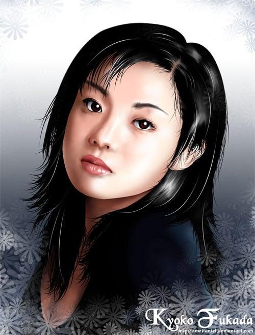 Kyoko Fukada by meitantei