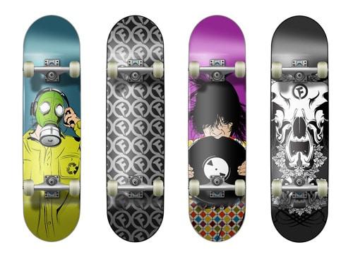 Skateboard Graphics by Lukasz Cegielski