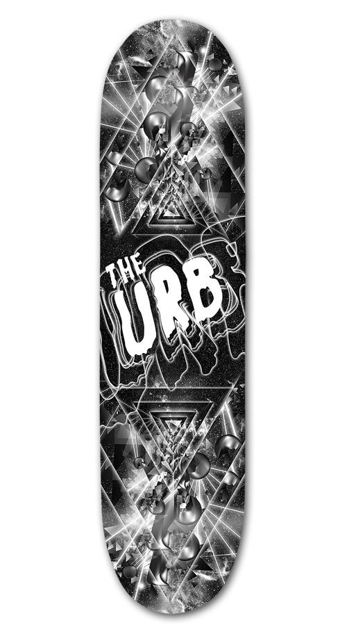 UFO & URB skateboard by Perttu Murto