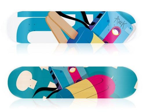 adrenn // skateboards by Facundo Talepp