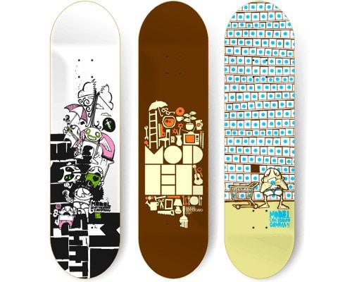 Skateboard Artwork by Nathan Matthews